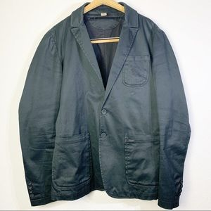 Diesel Black Blazer Jacket Medium